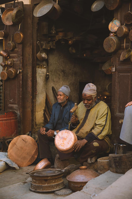 artisanat fes maroc