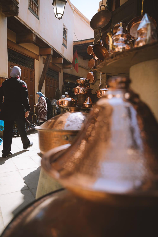 souk marocain ceramique