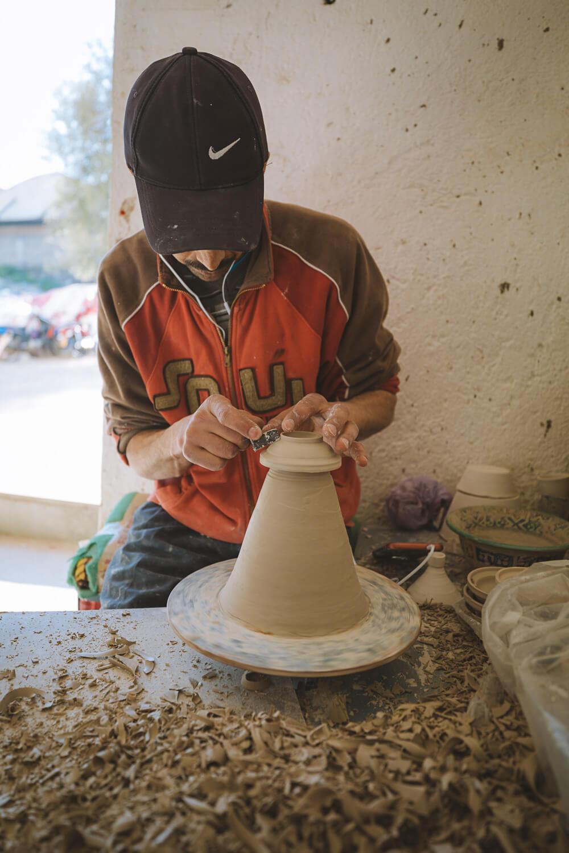 atelier ceramique marocain