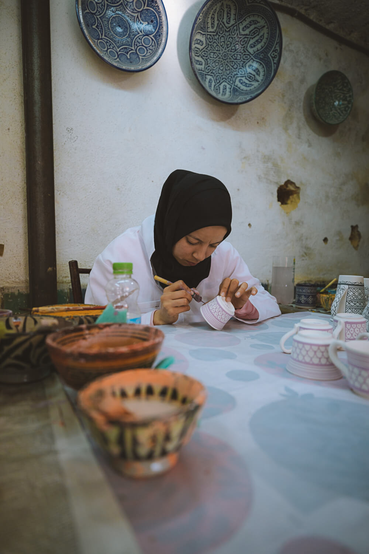 souk artisanat ceramique