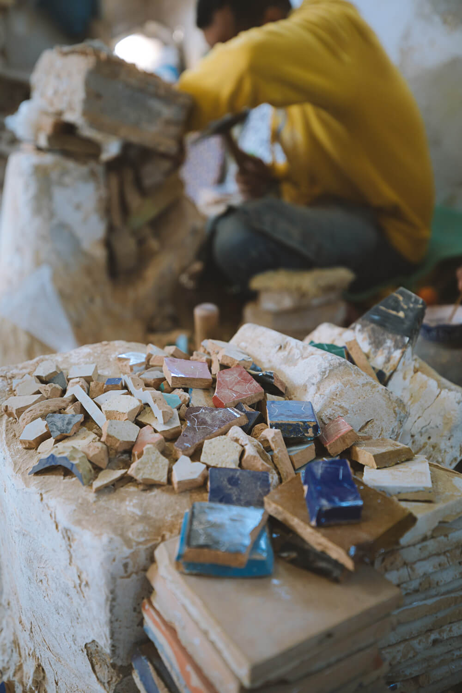 zellige maroc artisanat