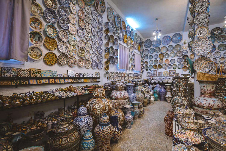magasin ceramique fes
