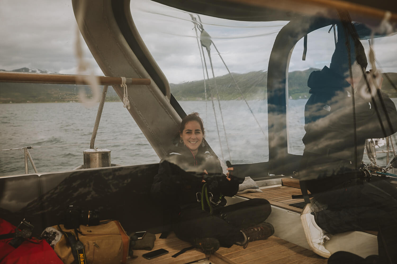 en voilier fjords norvege