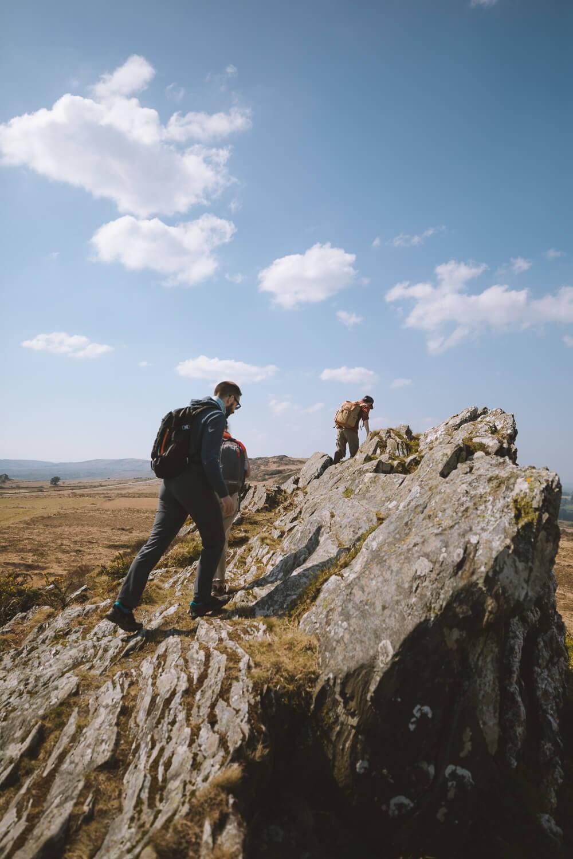 randonner dans les monts d arree bretagne