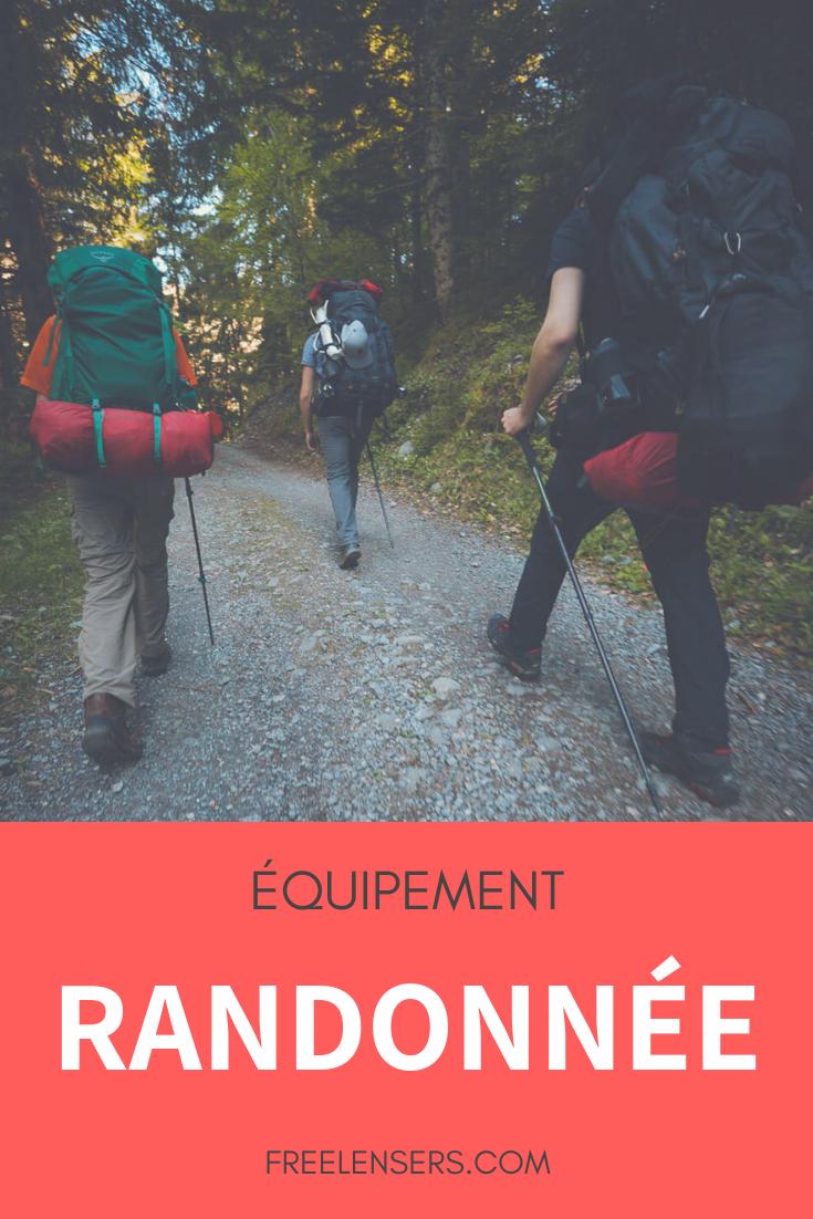 équipement randonnée