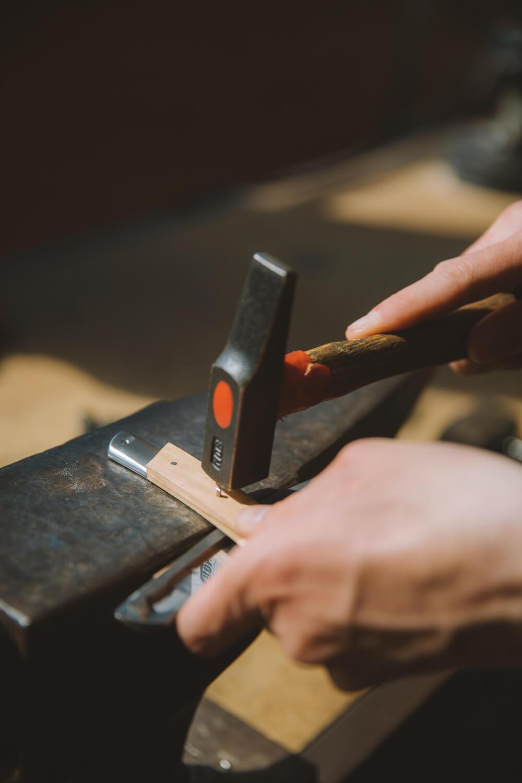 a l atelier de couteau thiers