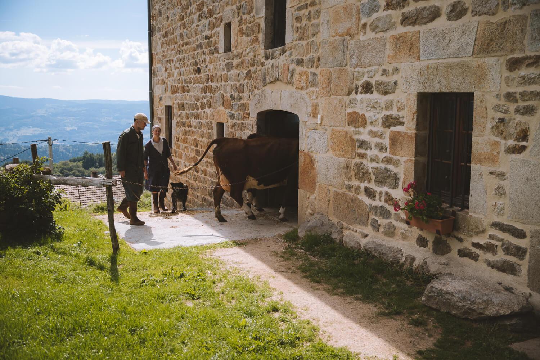 visite de la ferme des supeyres