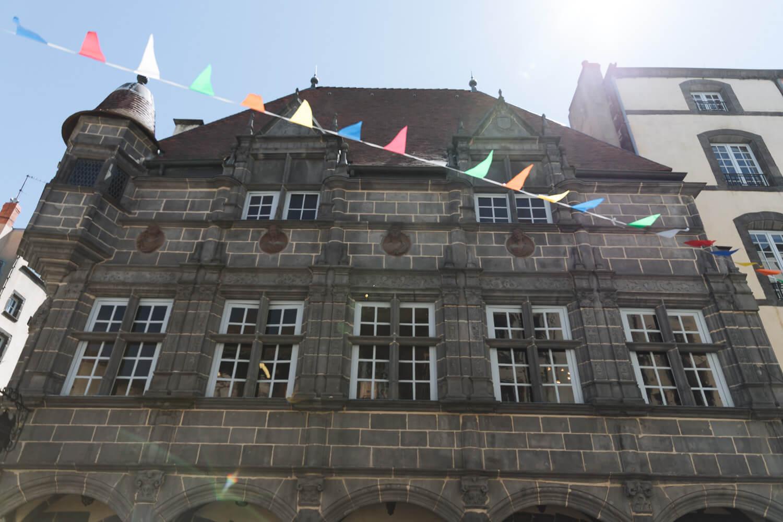 facade historique riom
