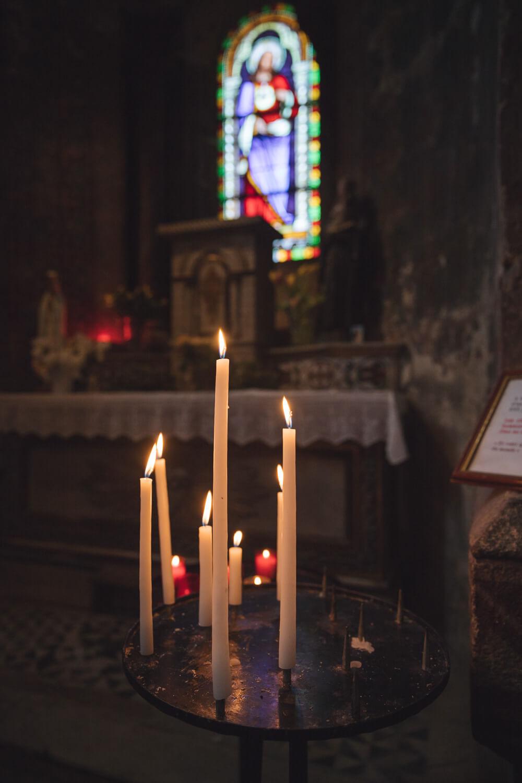 bougies abbatiale issoire