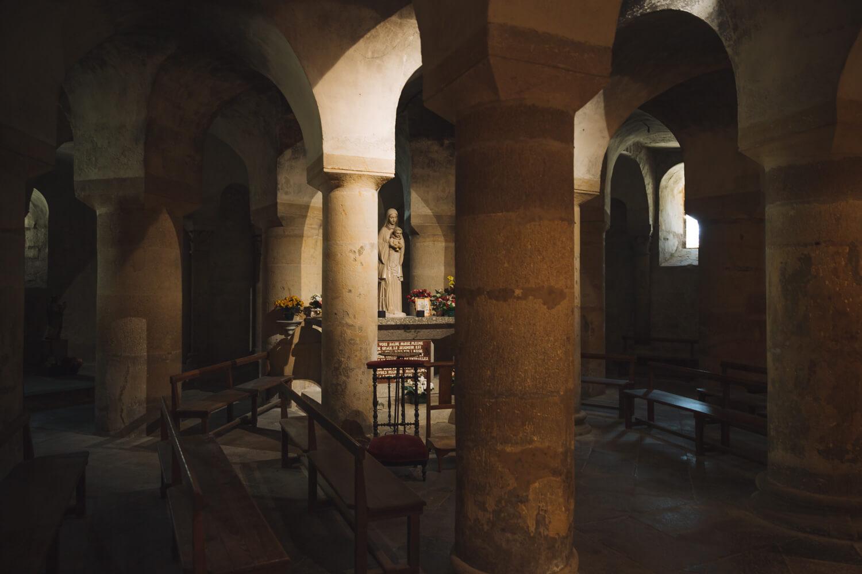 crypte abbatiale saint austremoine