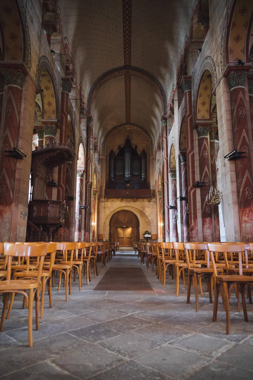 orgue allee principale abbatiale issoire