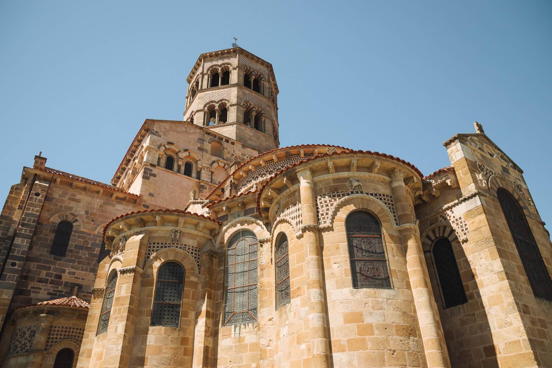 abbatiale saint austremoine issoire de l exterieur