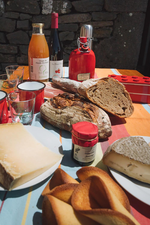 gastronomie auvergnate fromages jambon