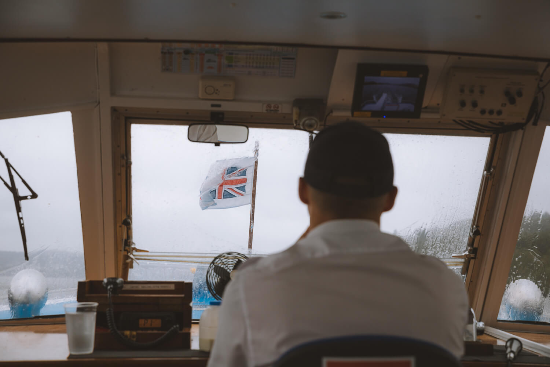 capitaine bateau lake district