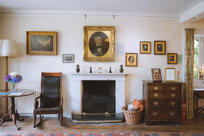 interieur rydal mount