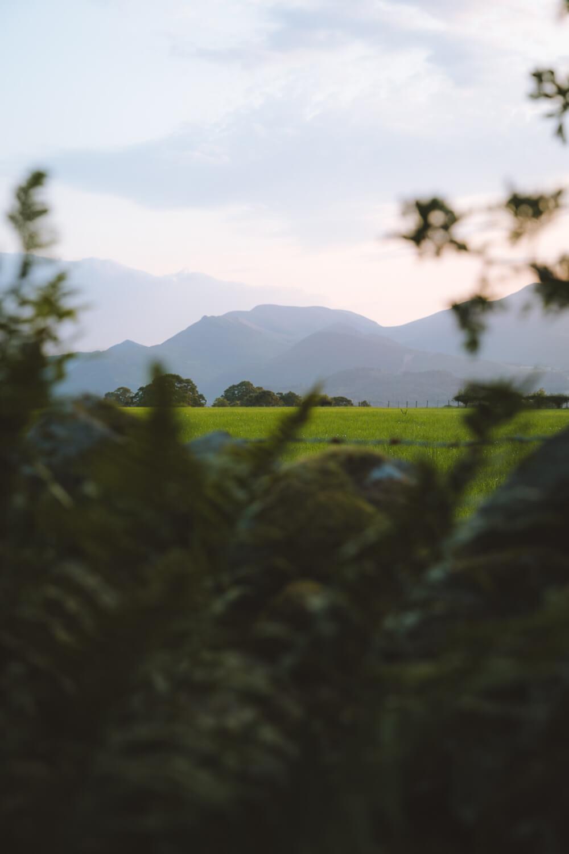 montagnes lake district angleterre