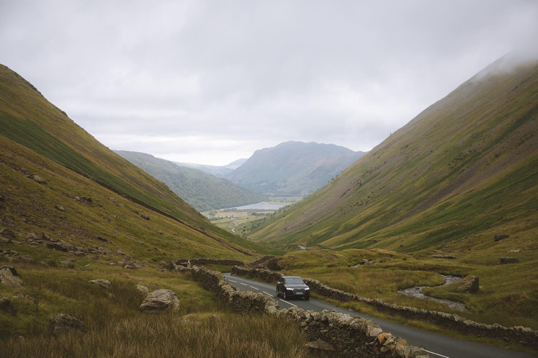 region des lacs route