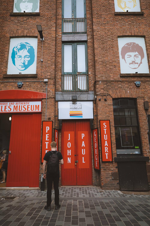 magical beatles museum liverppol mathew street