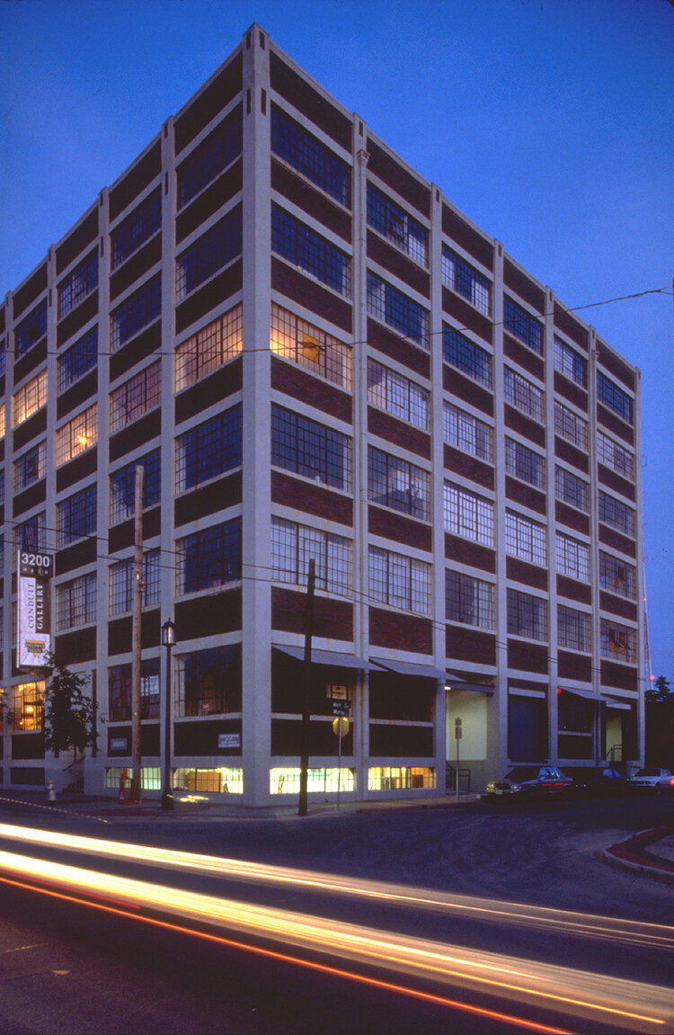 Deep Ellum Lofts - 3200 Main  The Office of Graham Greene (1990)