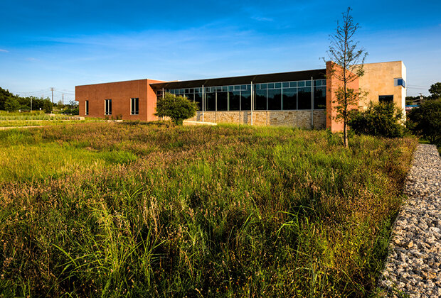 Prairie Creek Branch Library  LEED Platinum  DSGN Associates (2010)