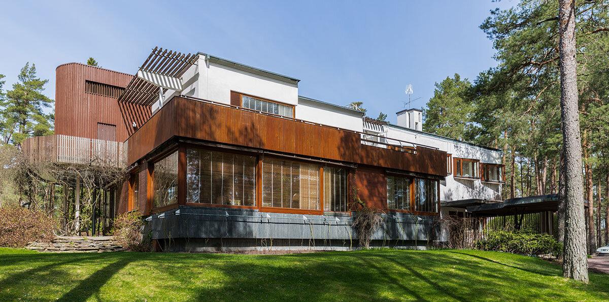 Villa Mairea in Noormarkku, Finland, Opened in 1939