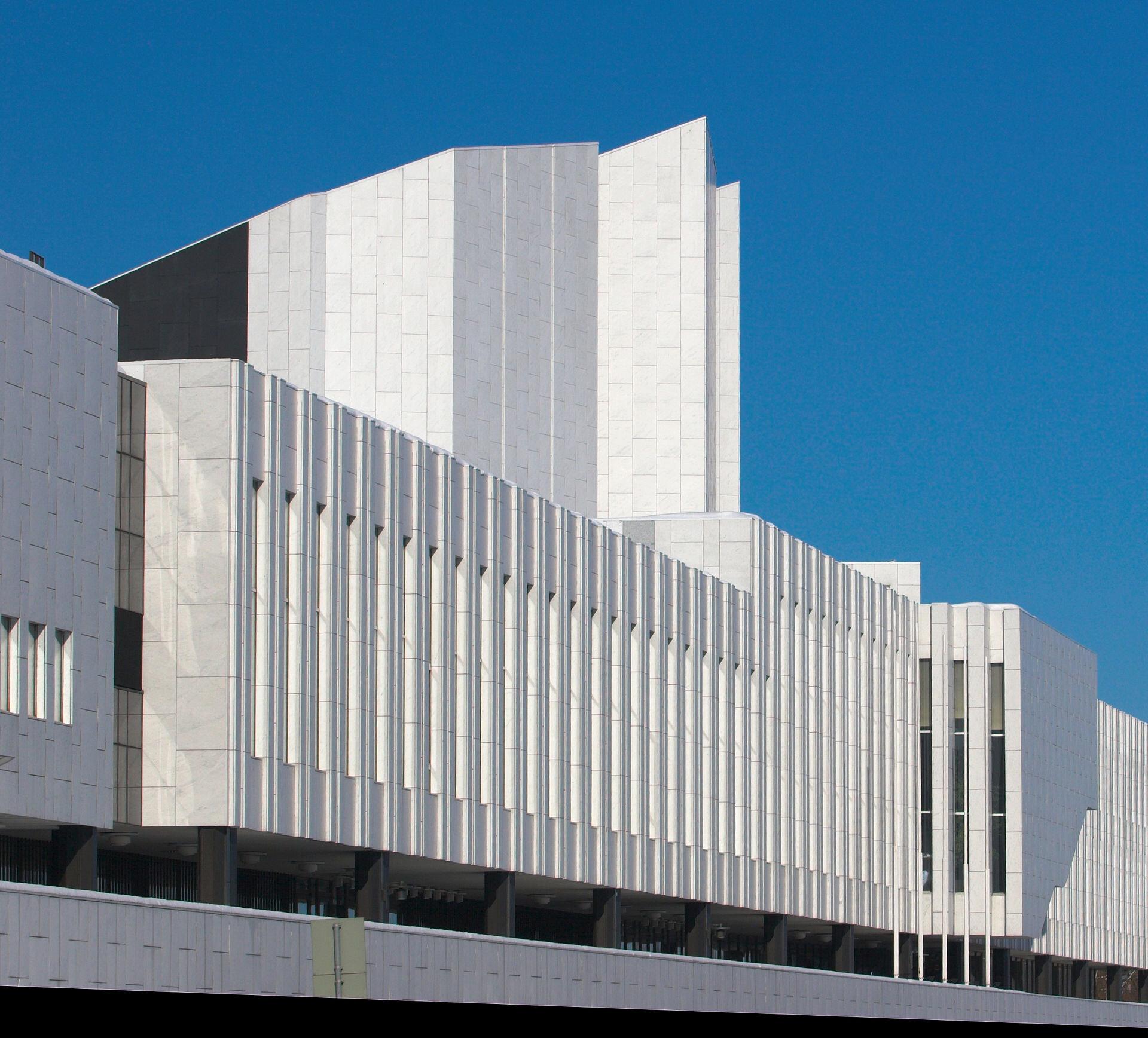 Finlandia Hall, Helsinki (1971)  Photo by: Rune Snellman