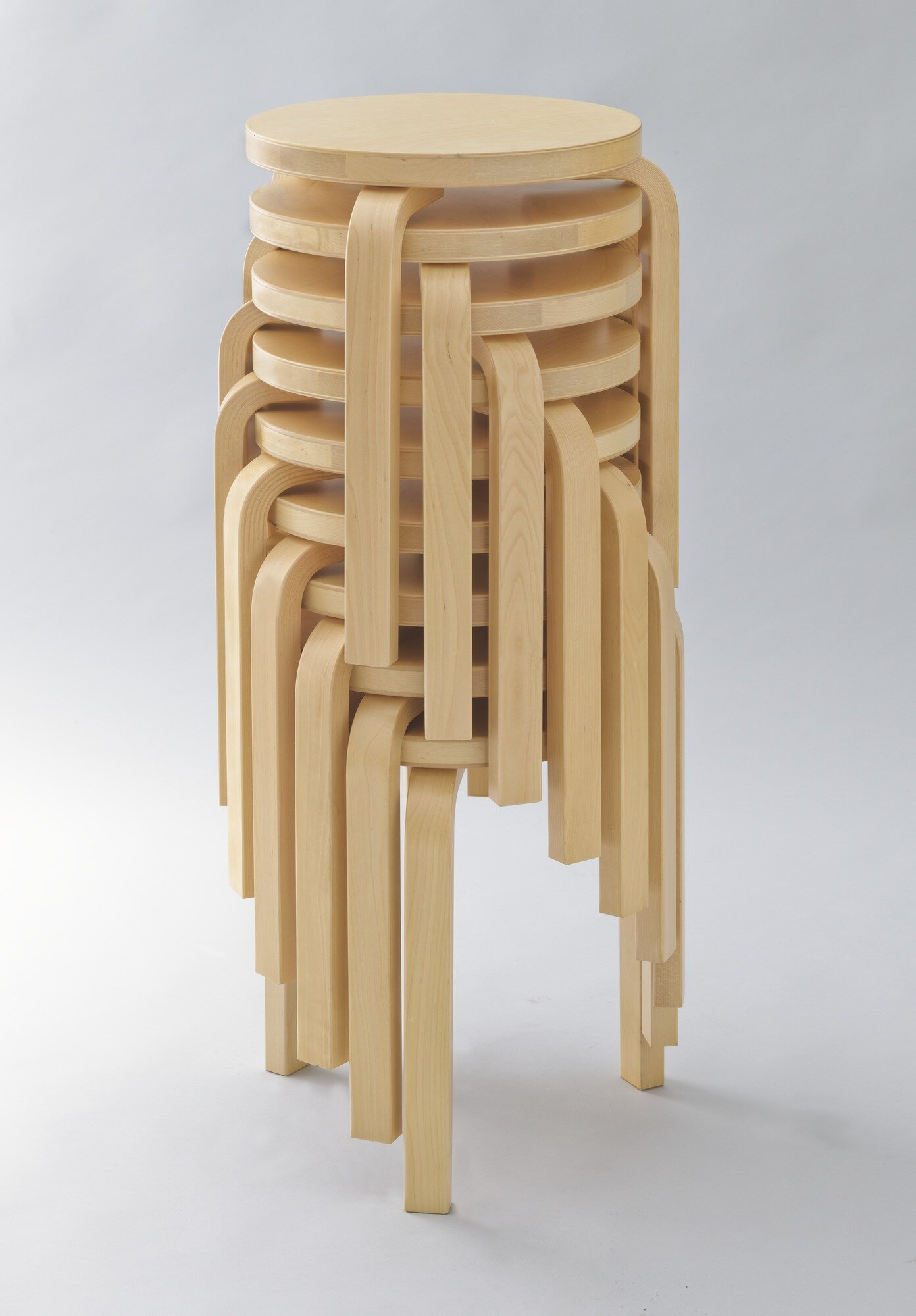 Stacking Stools-model 60 (1932-1933)