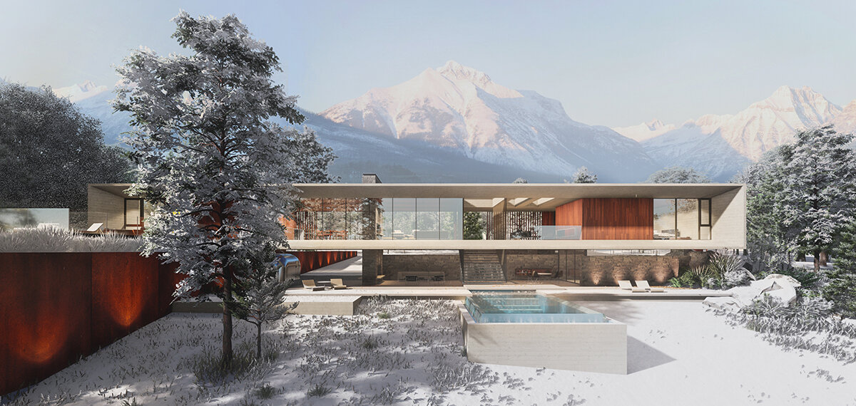 WINTER RETREAT  Full Project here