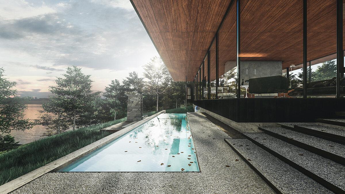 LAKE WINNSBORO RETREAT  Full project here