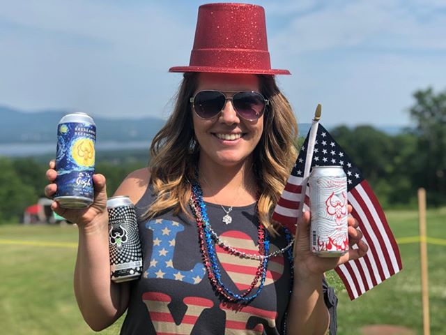 Hope you stocked up for the 4th!  If not we'll celebrate for you!  Cheers! Have a safe and Happy Independence Day! . . . . #bff #happyfourth #breakaway #everyoneneedsabreakaway #getdowngirlgetheregetdown #pursuitofhoppiness #nhbeer #craftnh #coolersfull #gotcraft #drinknh