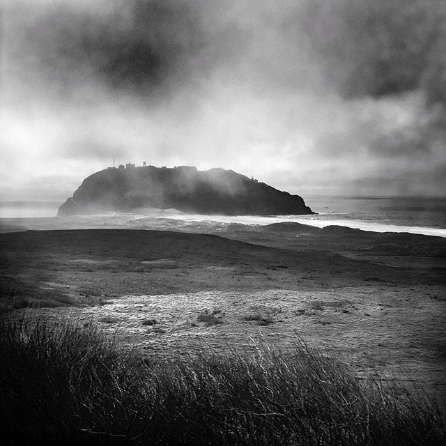 """Come down today 1-3pm!  You can see this #platinumprint, Point Sur, 1/10 by @rachshort and many more photographs from her new series """"The Little Girl Sang"""" up now through September 20!  #galleryexposed #photographygallery #artgallery #carmel #carmelbythesea #carmelsquare #buyphotography #blackandwhite #platinumprints #shotoniphone #iphoneonly #iphoneography #iphoneographer #bnwmagazine #bnw #bnwphoto #bnwphotography #bnw_captures #bnwmood #platinumprint"""