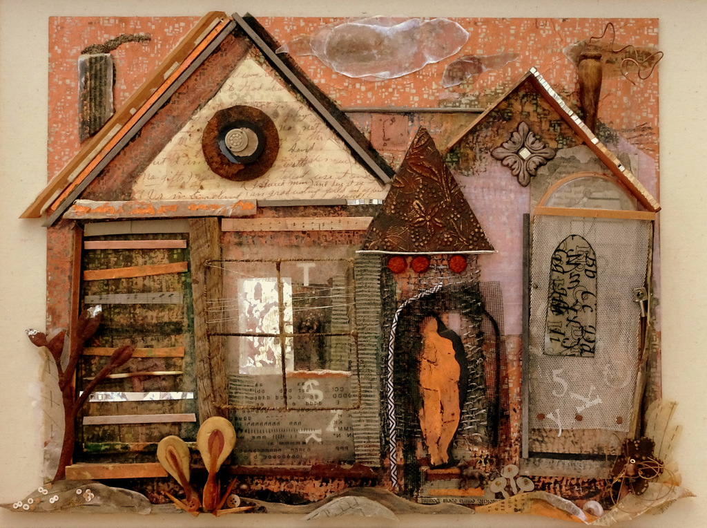 """Detail of """"MANY MANSIONS"""""""