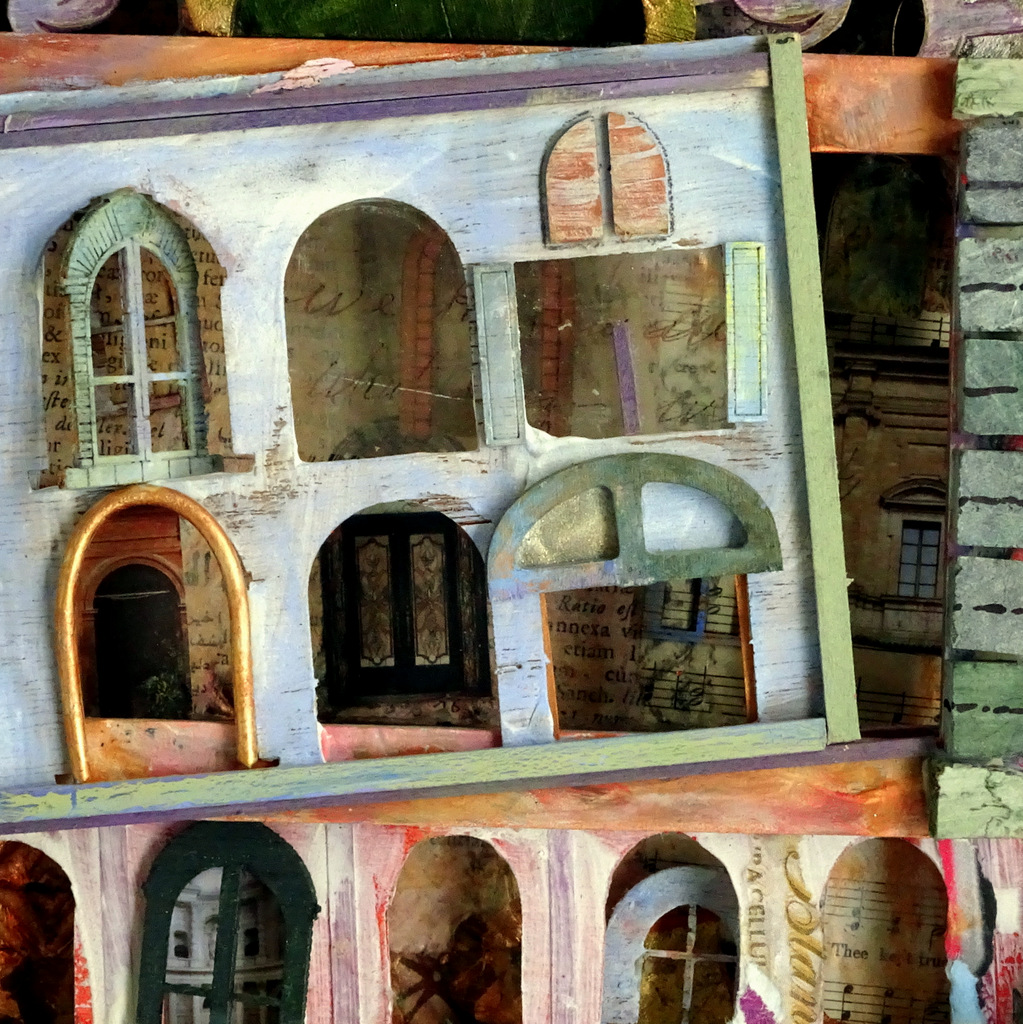 """Detail of """"VENICE"""""""