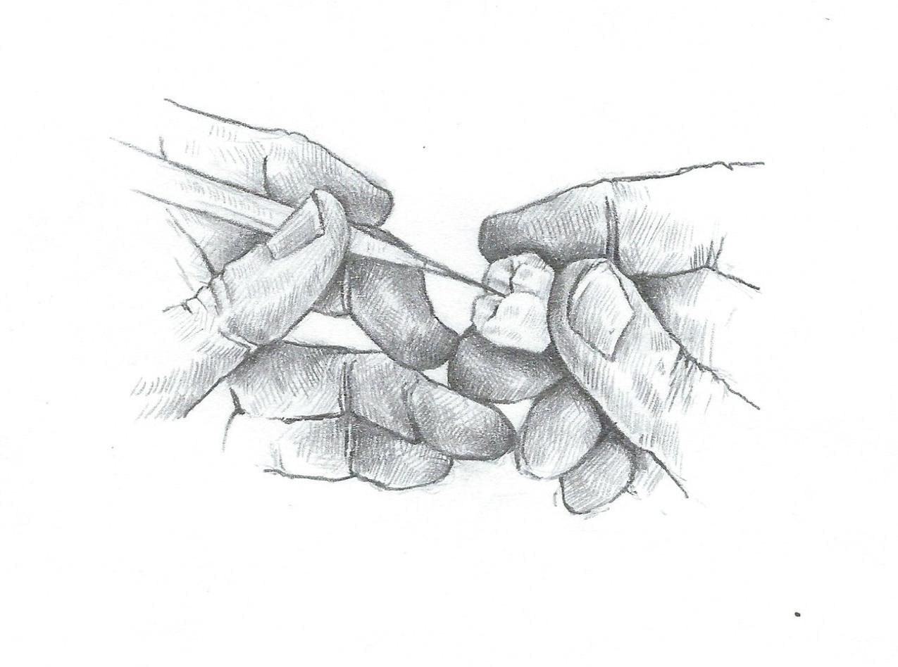 Drawings by Pat Rocha Sr .