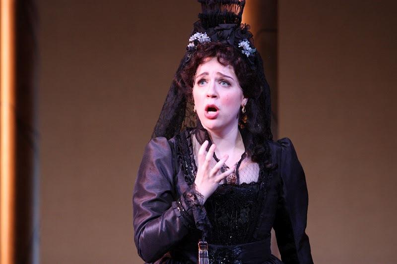 Photo credit: Eugenia Ames  Donna Anna in Mannes Opera's  Don Giovanni