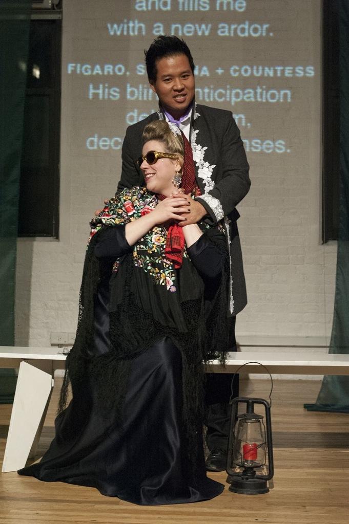 Countess in  Le Nozze di Figaro , LoftOpera  With Suchan Kim