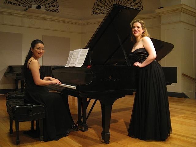 With pianist Eri Nakamura