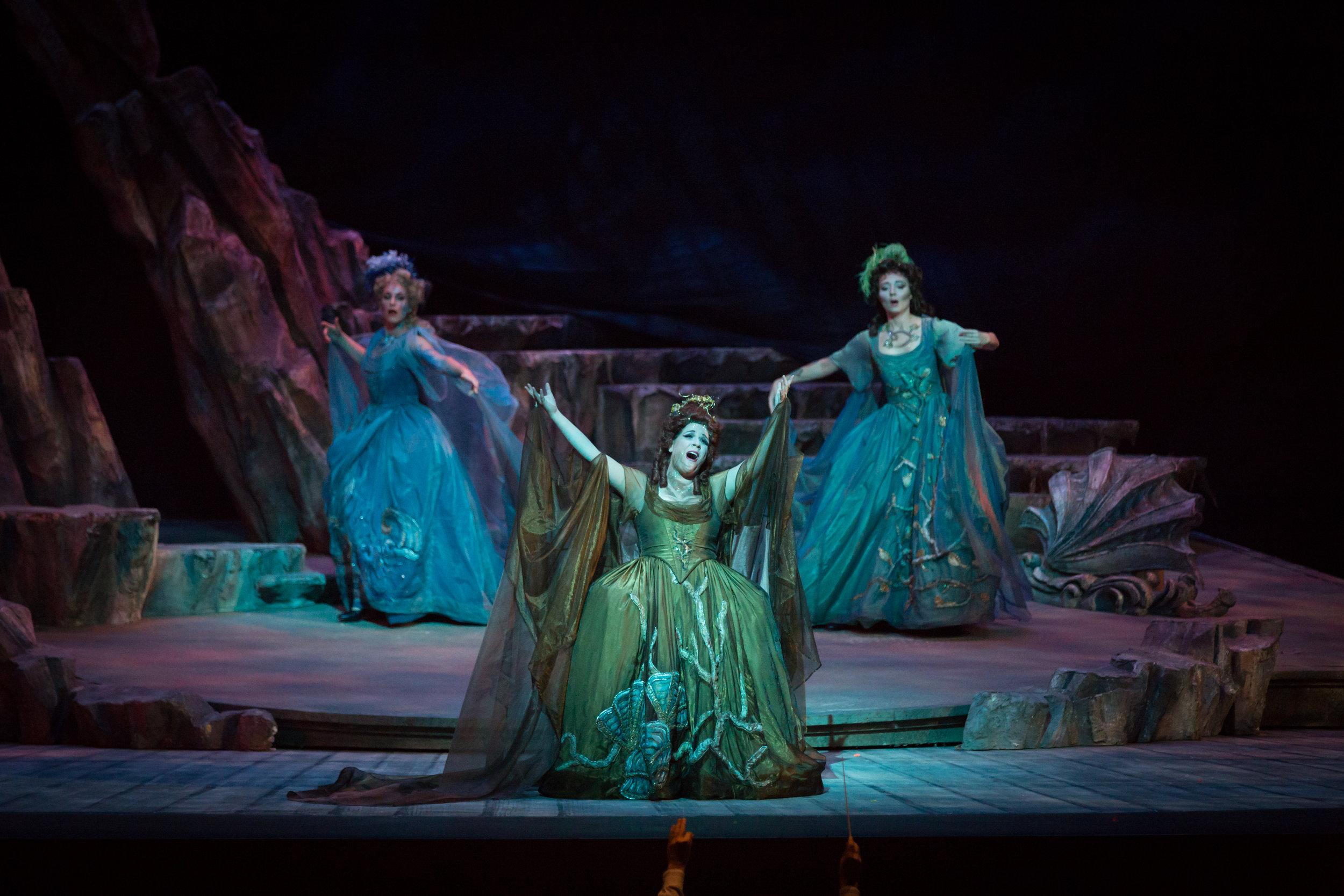 Photo credit: Palm Beach Opera  Echo in Ariadne auf Naxos   With Jessica Fishenfeld and Fleur Barron