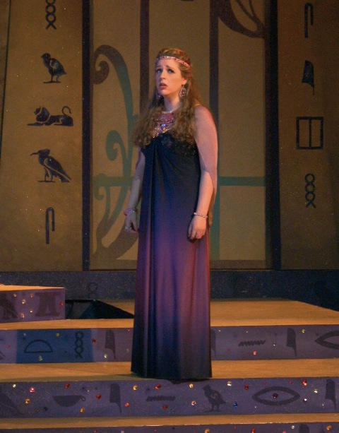 Pamina in Purchase Opera's  Die Zauberflöte