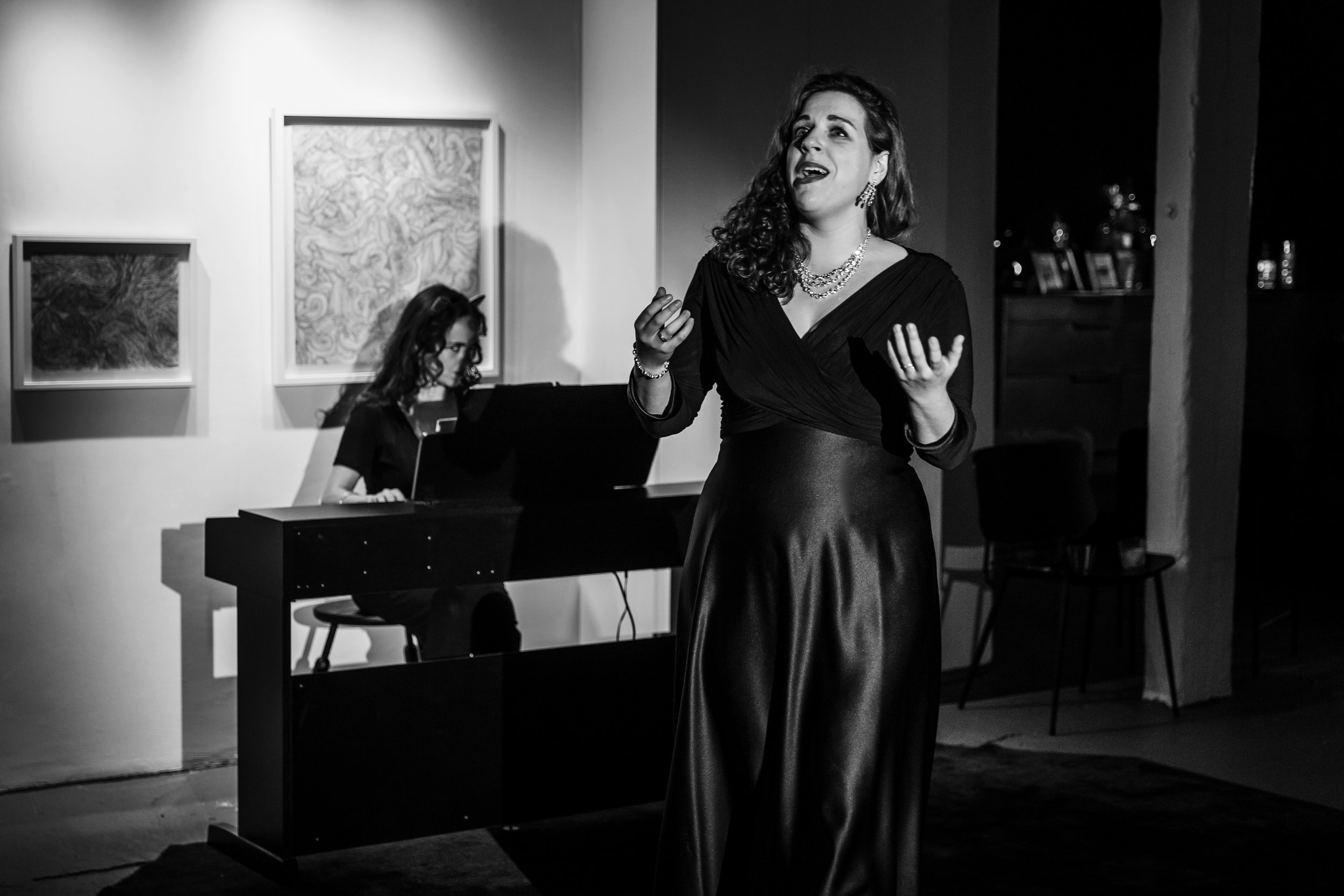 The Governess's aria from Turn of the Screw with pianist, Laetitia Ruccolo