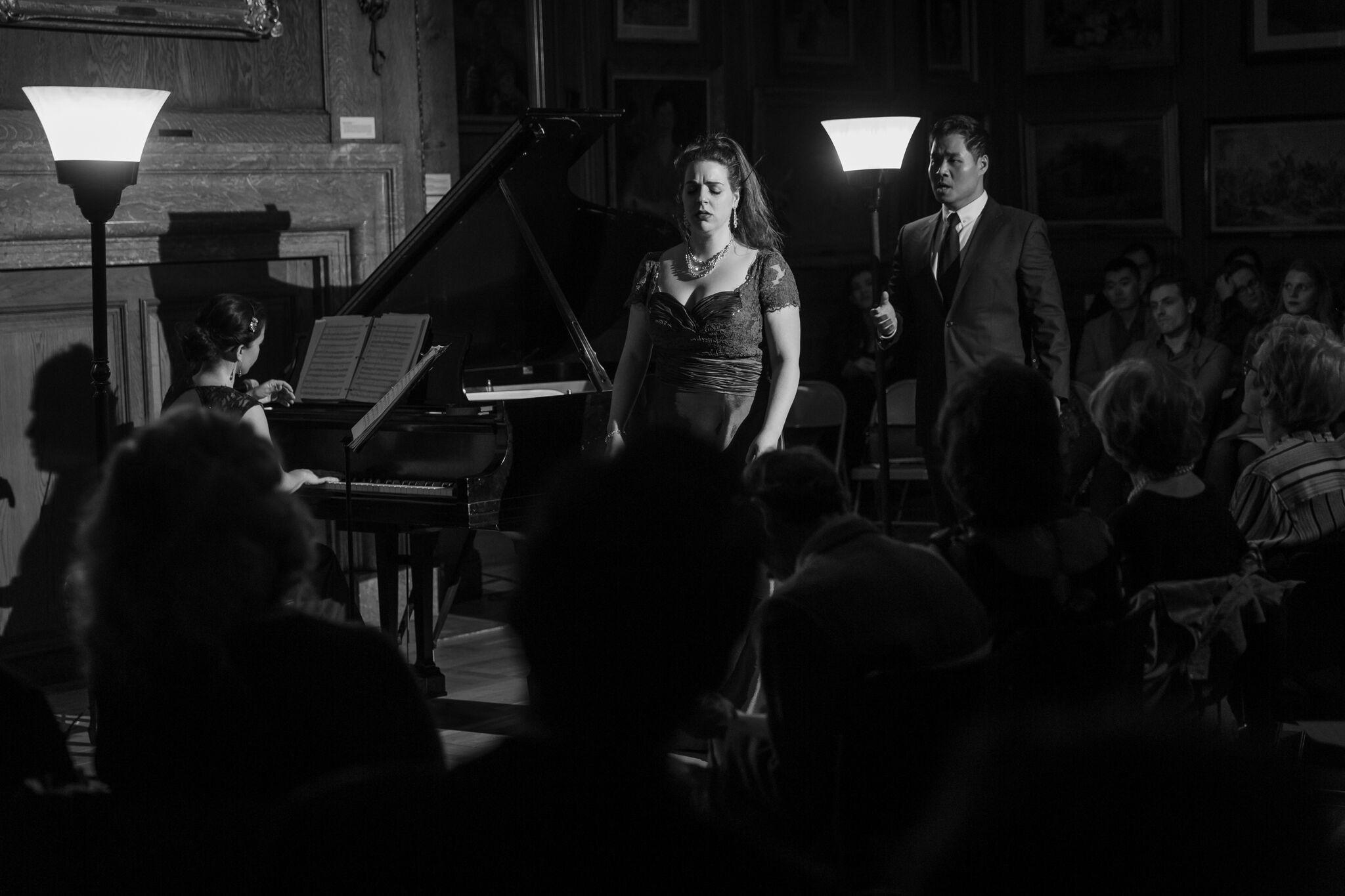 Traviata duet with baritone, Suchan Kim and pianist, Laetitia Ruccolo