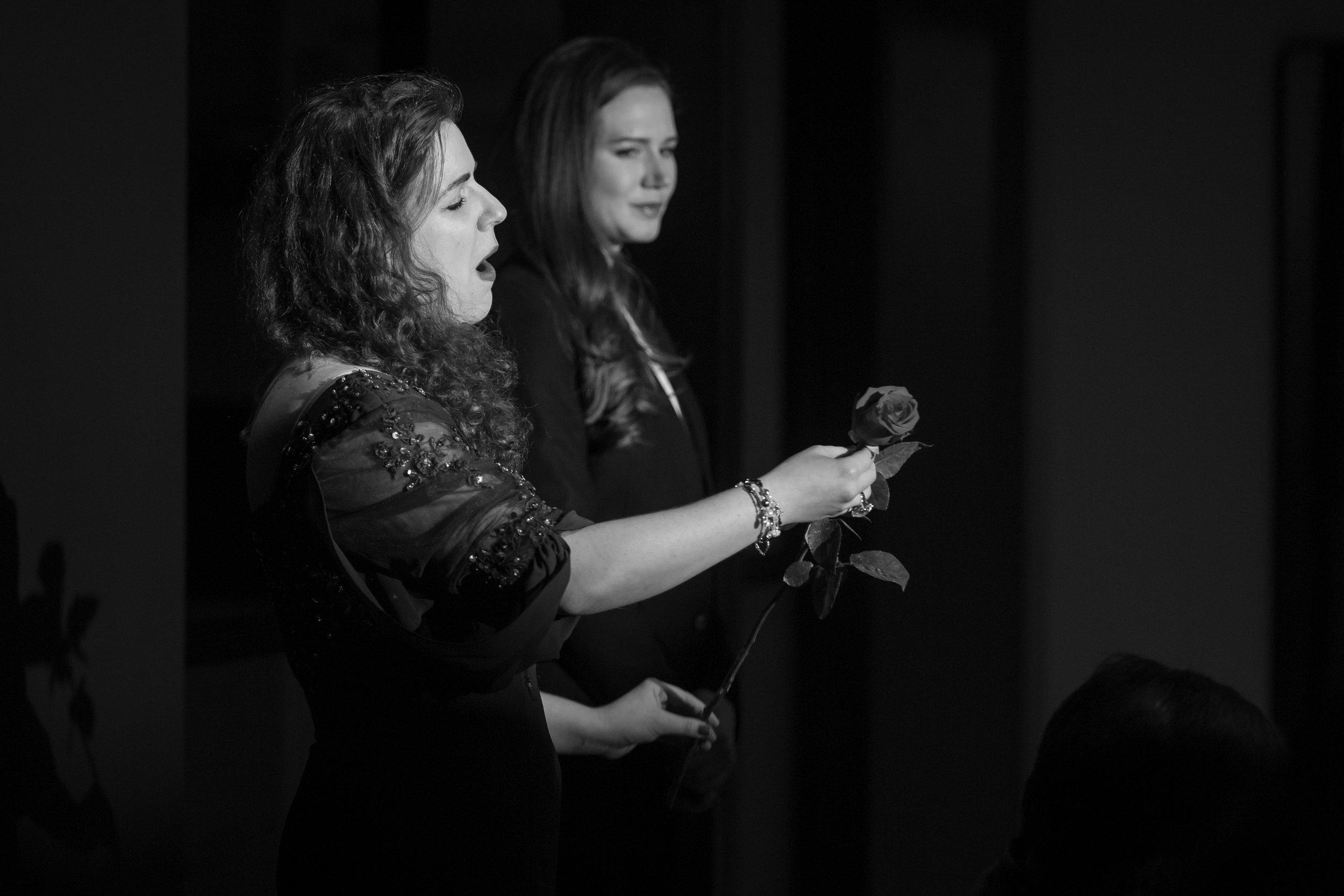 Presentation of the Rose, with mezzo-soprano Kirsten Scott as Octavian