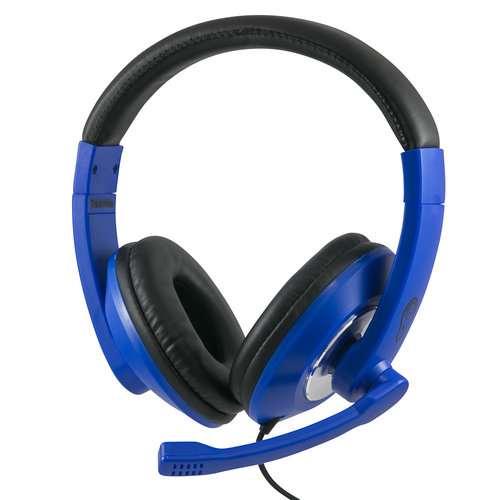 ThinkWrite Ultra Durable Headset - 3.5 mm Navy Blue image