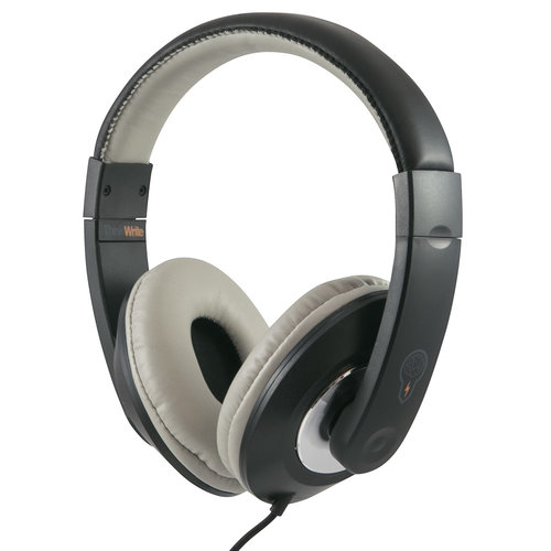 ThinkWrite Ultra Durable Headphones - 3.5 mm Black