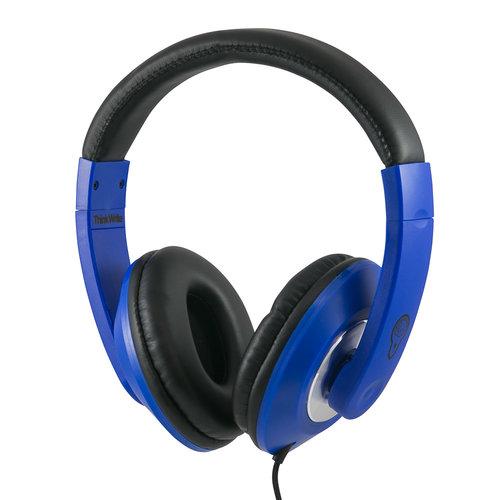 ThinkWrite Ultra Durable Headphones - 3.5 mm Navy Blue