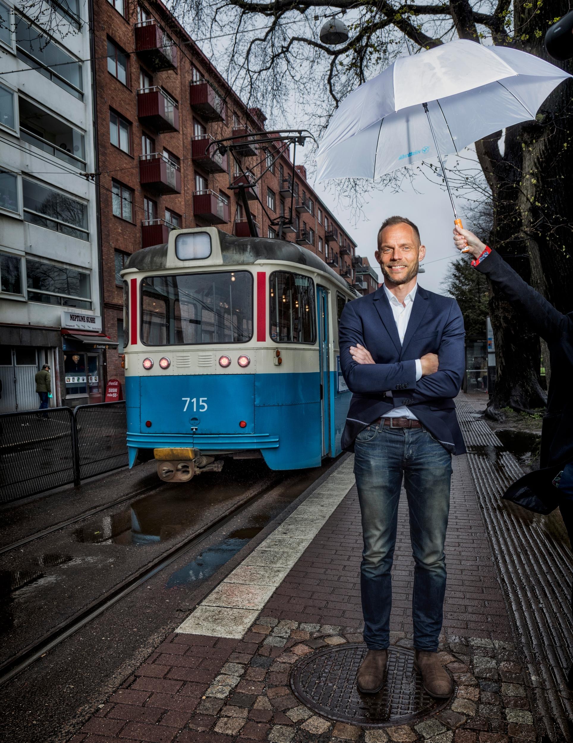 Lars Backström vd Västtrafik
