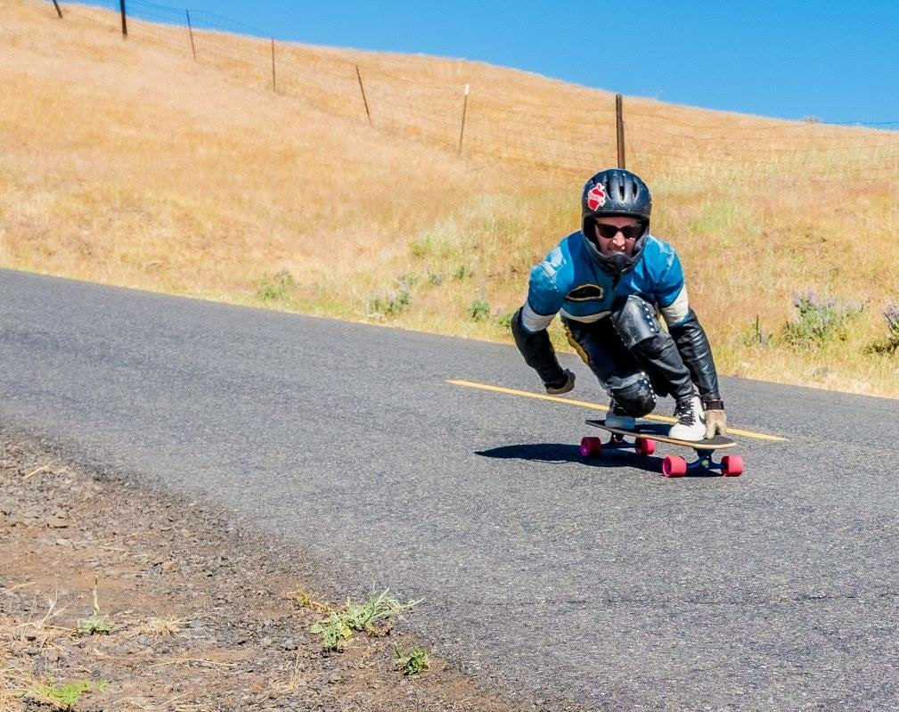 This shot was from this year's RVOD G RIde. It was taken by Robert McCarty. He took really beautiful photos all weekend long. Of course I'm riding solo because I've been passed by everyone on the hill already! But I love the shot because it makes me feel the fast railing corners. Thanks for letting me use this photo Robert! You can check out his awesome photos: @robrmccarty on Instagram.