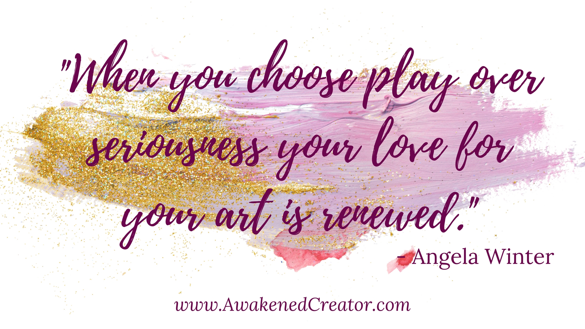 Choose play over seriousness Creativity Wallpaper