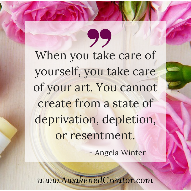 YOU CANNOT CREATE FROM A STATE OF DEPRIVATION, DEPLETION, OR RESENTMENT..png