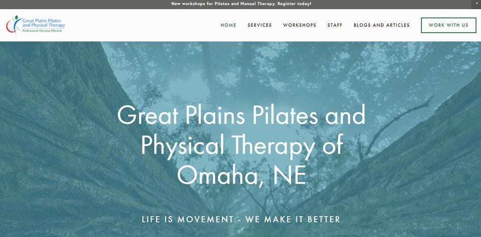 healer website design